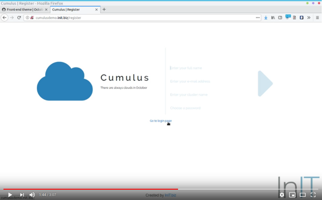 Cumulus demo video thumbnail